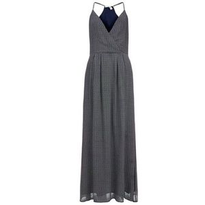 Joie Navy Ouida Silk Maxi Dress